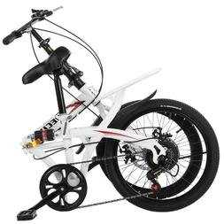 20in 7 -Speed City Folding Compact -Suspension Women B