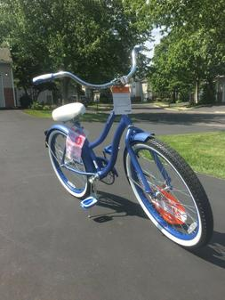 """Huffy 24"""" Cranbrook Girls' Cruiser Bike With Perfect Fit Fra"""