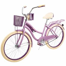 """Huffy 24"""" Nel Lusso Women's Cruiser Bike with Perfect Fit Fr"""