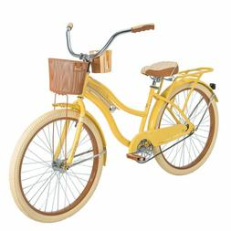 """Huffy 26"""" Nel Lusso Women Cruiser Bike with Perfect Fit Fram"""