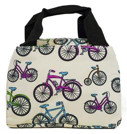 Bicycle Thermal Insulated Lunch Box Cooler Bag Cute Womens G