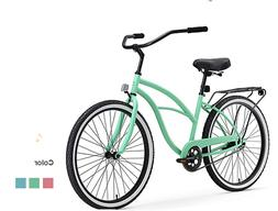 """Cruiser Bicycle invention beach women 5' to 62"""" Tall  inch s"""