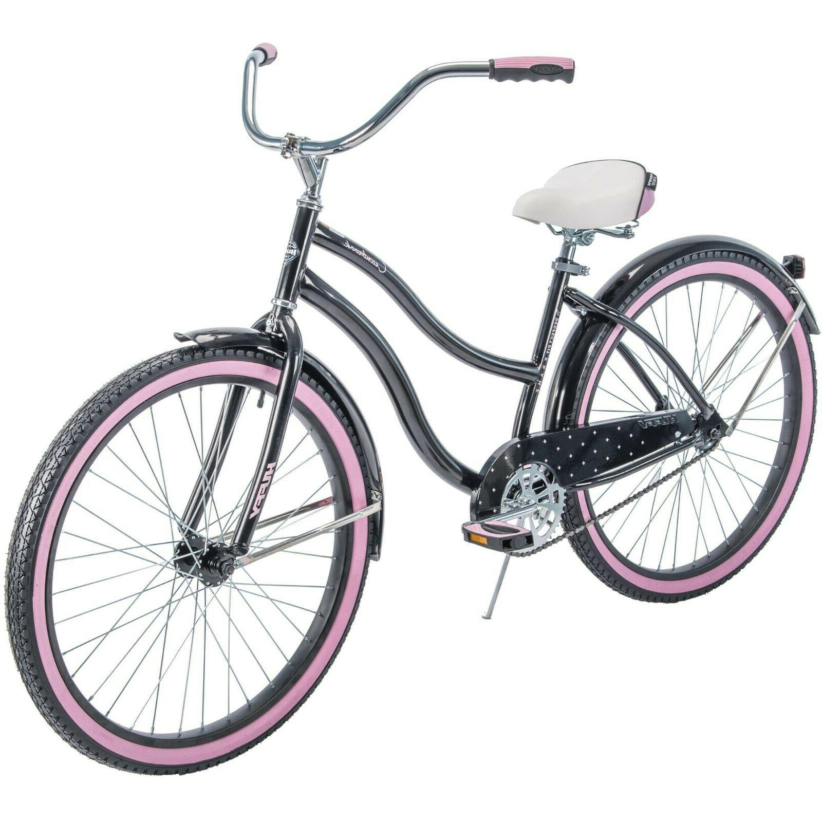 Huffy Women's Cruiser Bike with Perfect Fit Frame Shipping