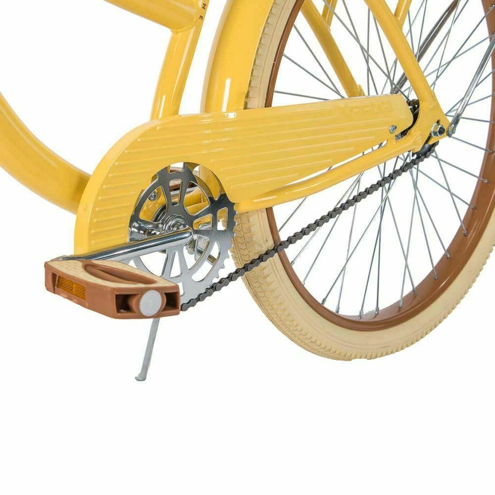 """Huffy 26"""" Lusso Women Bike with Perfect Frame,Yellow free"""