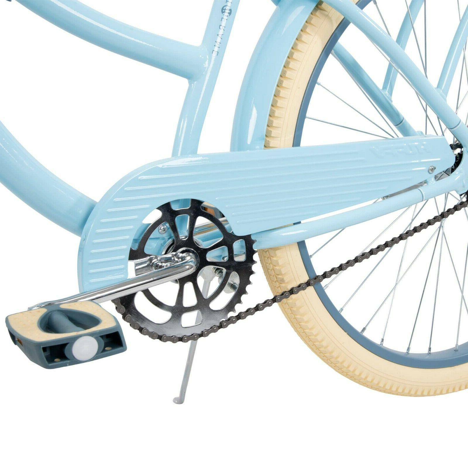 Huffy Nel Lusso Bike Perfect Fit Frame, Light Blue- NEW !!