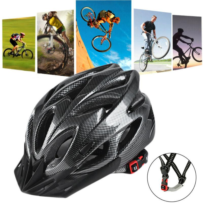 carbon bicycle cycling mtb skate helmet mountain