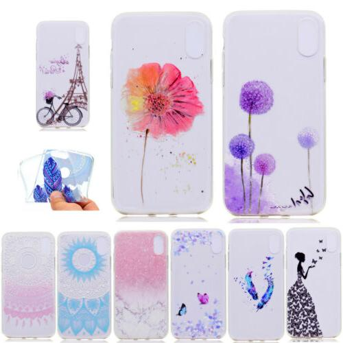 silicone transparent phone case cover for women