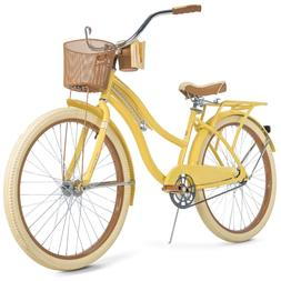 """New Huffy 26"""" Nel Lusso Women's Cruiser Bike with Perfect Fi"""