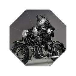 New Bugs Bunnny Motorcycle Style Print Foldable Travel Umbre