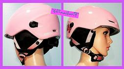 SMITH:COSMOS WOMEN'S PINK MOTORCYCLE LIGHTWEIGHT OPEN FACE H